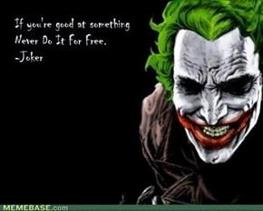 Joker Wisdom