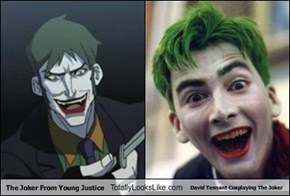 The Joker From Young Justice Totally Looks Like David Tennant Cosplaying The Joker