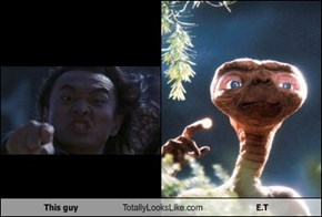 This guy Totally Looks Like E.T