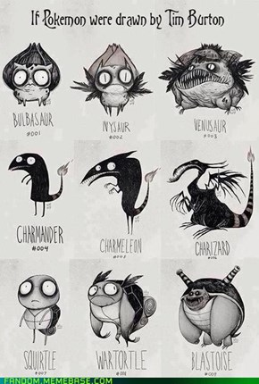 Tim Burton's The Pocket Monsters