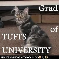 Grad of TUFTS       UNIVERSITY
