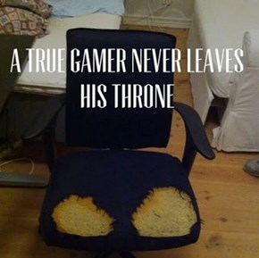 Every Gamer Has a Special Chair