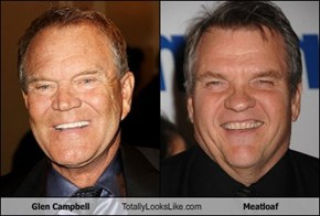 Glen Campbell Totally Looks Like Meatloaf