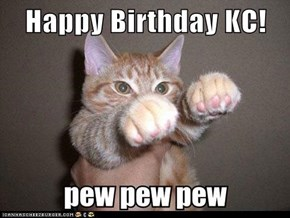 Happy Birthday KC!