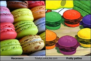 Macaroons Totally Looks Like Pretty patties