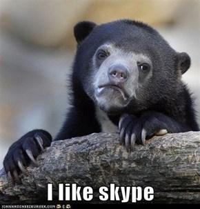 I like skype
