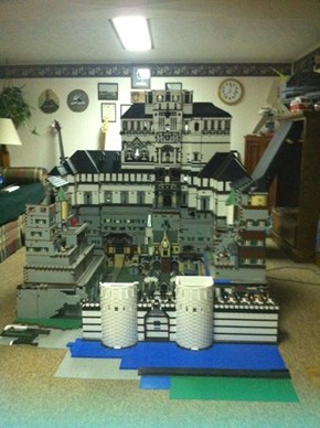 This LEGO Castle Took 11 Years of Hard Work!