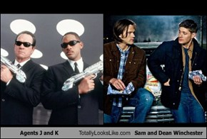 Agents J and K Totally Looks Like Sam and Dean Winchester