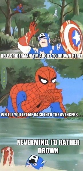 No One Wants Spidey