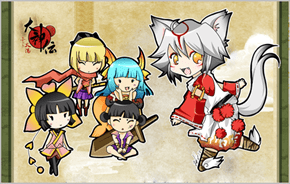 Adorable heroes of  Nippon