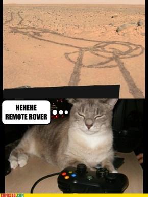 Mars Graffiti