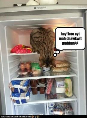 hay! hoo ayt mah chawkwit puddun??