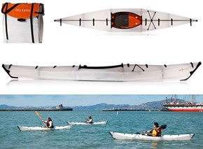 The Convenient, Folding Kayak