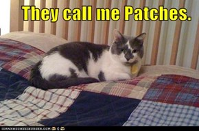 They call me Patches.