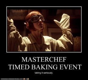 MASTERCHEF  TIMED BAKING EVENT
