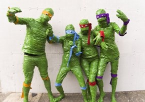 Teenage Mutant Ninja Terribles