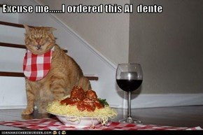 Excuse me......I ordered this Al  dente