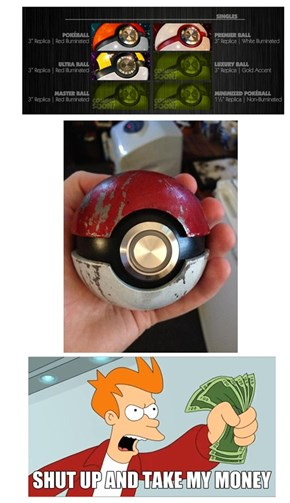 All We Want Are Realistic Poke Balls