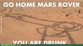 Go home Mars rover !