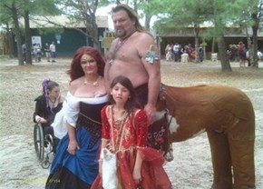 The Centaurson's Family Picture