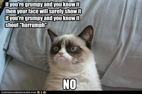 if you're grumpy and you know it