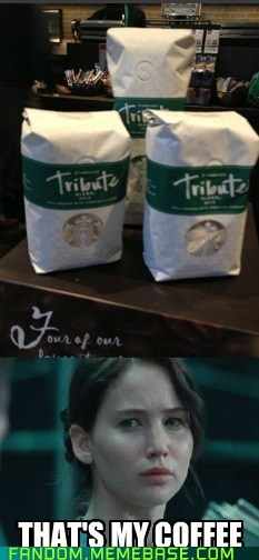 May the Starbucks be ever in your flavor