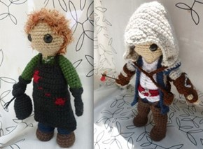 Proving that Amigurumi Works For Almost All Pop Characters
