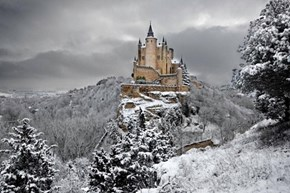 Alcázar of Segovia in Spain
