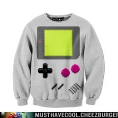 Video Game Pixel Art Sweatshirt