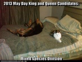 2013 May Day King and Queen Candidates:   Mixed Species Division