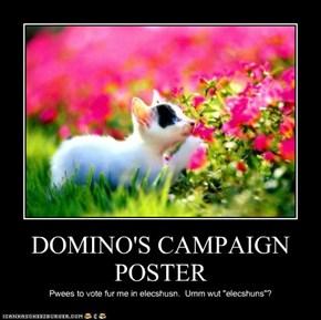 DOMINO'S CAMPAIGN POSTER