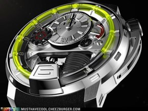 $45,000 Piston Powered Liquid Watch
