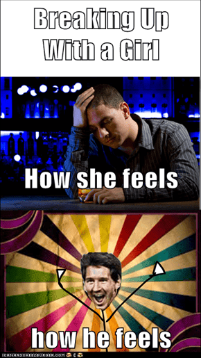 Breaking Up With a Girl How she feels how he feels