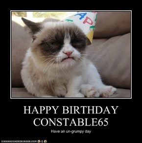 HAPPY BIRTHDAY CONSTABLE65