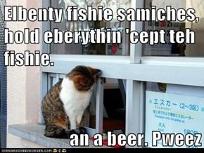 Elbenty fishie samiches