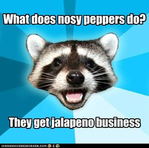 What does nosy peppers do?