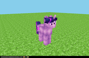 Twilight Sparkle in the Minecraft World