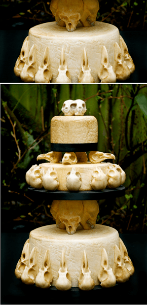 Would You Want This Catacomb Cake for Your Wedding?