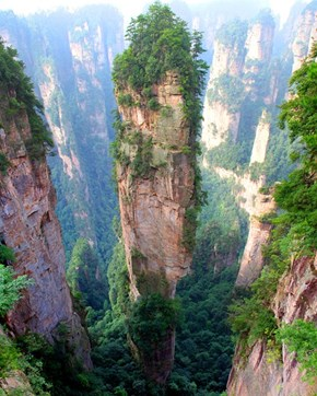 Tianzi Mountains, Chile