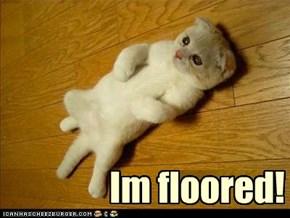 Im floored!
