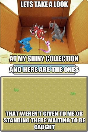 Not Even One Shiny Pokemon After All These Years