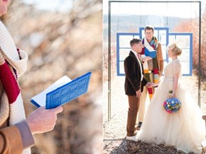 A Doctor Who Themed Wedding