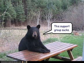 This support group sucks.