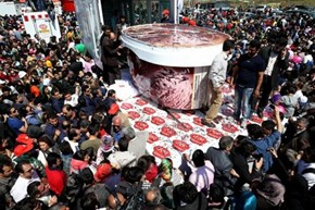 A New Challenger of the Day: Iran's New Guinness World Record for the Largest Tub of Ice Cream