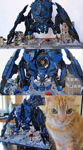Check Out This Insane Mass Effect Lego Reaper