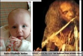 Sadie Elizabeth Jordan Totally Looks Like Ian Anderson from JETHRO TRULL
