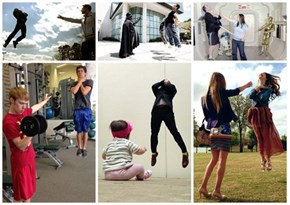 Photo Fad of the Day: Hadoukening Inspires Vadering