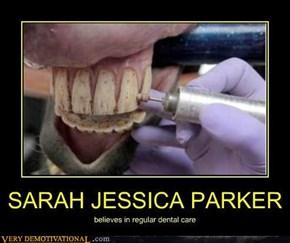 She's Got Some Clean Teeth