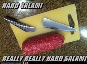 HARD SALAMI   REALLY REALLY HARD SALAMI