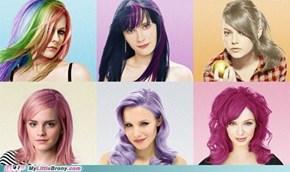 Celebrity Ponies IRL